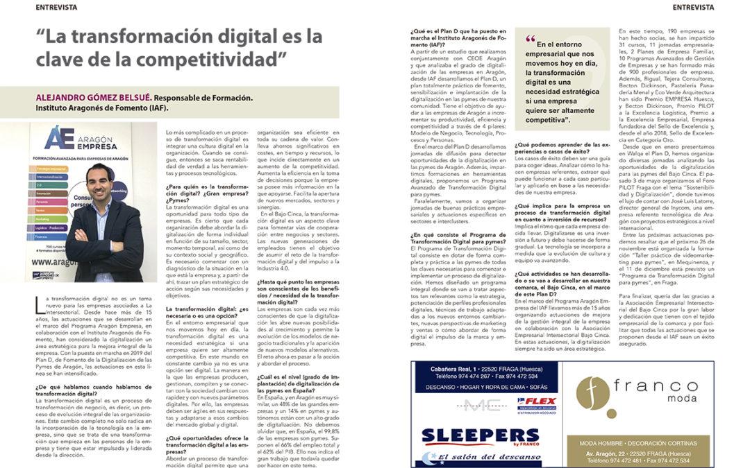 «La transformación digital es la clave de la competitividad»