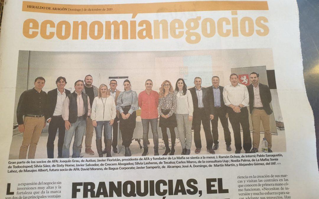 Nuestra Asociación de Franquiciadores de Aragón ¡Es noticia!