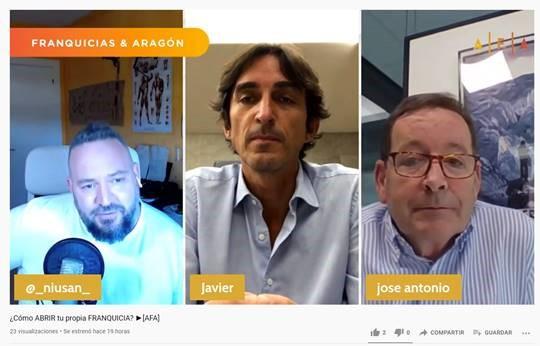 Estrenamos nuevo canal de Youtube   FRANQUICIAS & ARAGÓN